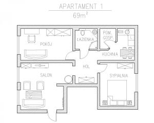 apartament 1 rzut